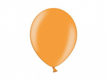 Balony 14'', Metallic Bright Orange (1 op. / 100 szt.)