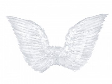Angel's wings, white, 75 x 45cm