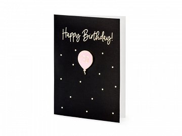 Card with enamel pin 30, 10.5x14.8cm