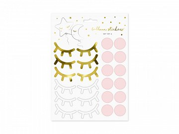 Party stickers Little Star (1 pkt / 10 pc.)