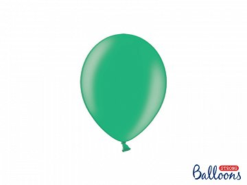 Strong Balloons 12cm, Metallic Malachit (1 pkt / 100 pc.)