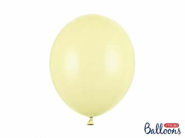 Balony Strong 30cm, Pastel Light Yellow (1 op. / 10 szt.)