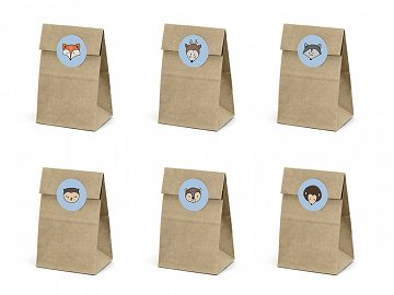 Treat bags Woodland (1 pkt / 6 pc.)