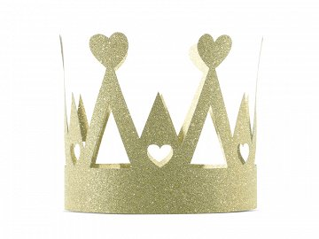 Crown Sweet Love, gold (1 ctn / 50 pc.)