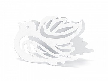 Place Cards Dove, 7.5 x 5cm (1 pkt / 10 pc.)