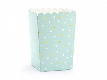 Boxes for popcorn, mix, 7x7x12.5cm  (1 pkt / 6 pc.)