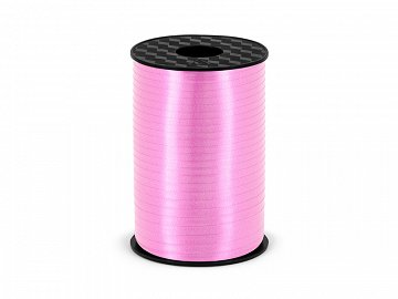 Plastic ribbon, light pink, 5mm/225m