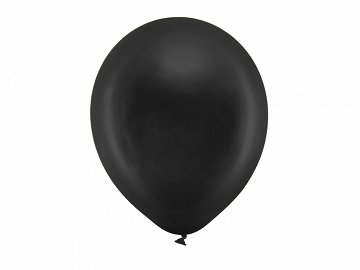 Rainbow Balloons 30cm metallic, black (1 pkt / 100 pc.)