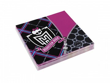 Napkins Monster High, 33 x 33cm (1 pkt / 20 pc.)