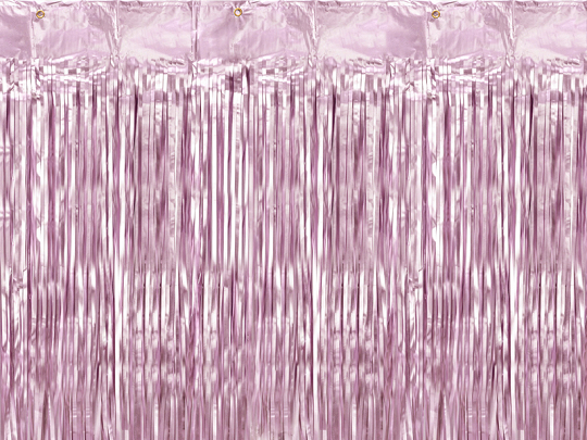 Party curtain, heather, 90x250cm
