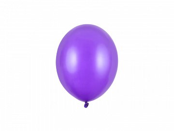Strong Balloons 12cm, Metallic Purple (1 pkt / 100 pc.)