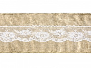 Burlap chair sash (1 ctn / 36 pc.)
