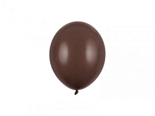 Balony Strong 12cm, Pastel Cocoa Brown (1 op. / 100 szt.)