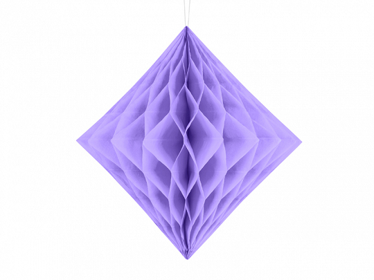 Honeycomb Diamond, lilac, 30cm