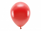 Eco Balloons 30cm metallic, red (1 pkt / 100 pc.)
