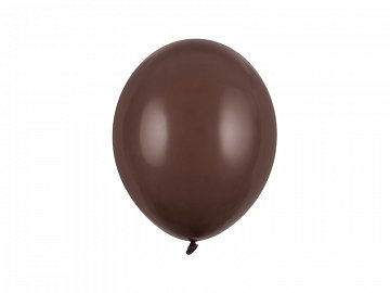 Strong Balloons 27cm, Pastel Cocoa Brown (1 pkt / 100 pc.)