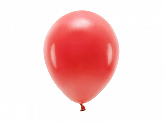 Eco Balloons 26cm pastel, red (1 pkt / 100 pc.)