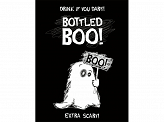 Bottle labels for alcohol Boo (1 pkt / 10 pc.)