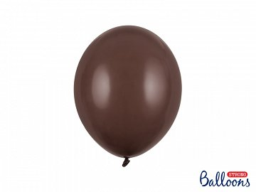Strong Balloons 27cm, Pastel Cocoa Brown (1 pkt / 10 pc.)