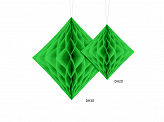 Honeycomb Diamond, light green, 30cm