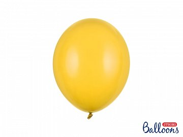 Strong Balloons 27cm, Pastel Honey Yellow (1 pkt / 50 pc.)