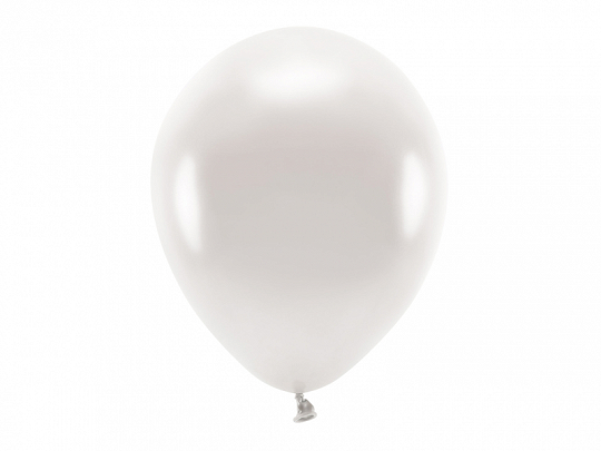 Eco Balloons 30cm metallic, pearl (1 pkt / 100 pc.)