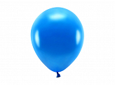 Eco Balloons 26cm metallic, navy blue (1 pkt / 10 pc.)
