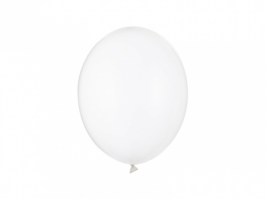 Balony Strong 27cm, Crystal Clear (1 op. / 100 szt.)