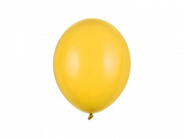 Strong Balloons 27cm, Pastel Honey Yellow (1 pkt / 100 pc.)