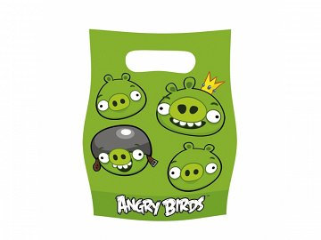 Party bags Angry Birds (1 pkt / 6 pc.)
