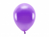 Eco Balloons 26cm metallic, violet (1 pkt / 10 pc.)
