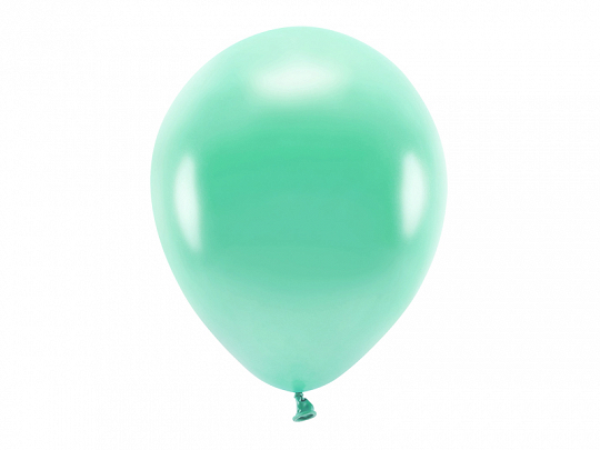 Eco Balloons 30cm metallic, dark mint (1 pkt / 100 pc.)