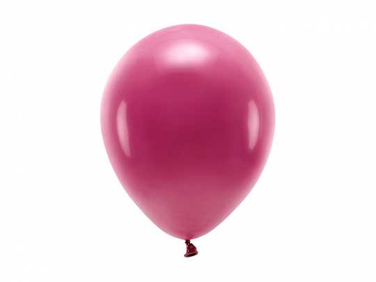 Eco Balloons 26cm pastel, deep red (1 pkt / 10 pc.)