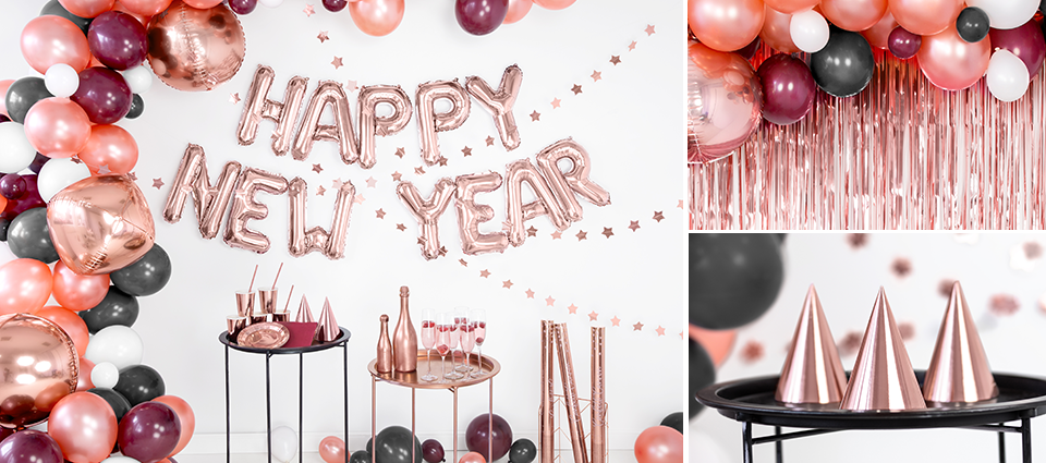 Rose Gold New Year's Party
