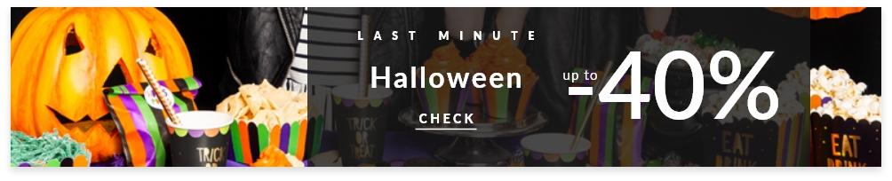 Halloween wyprzedaż