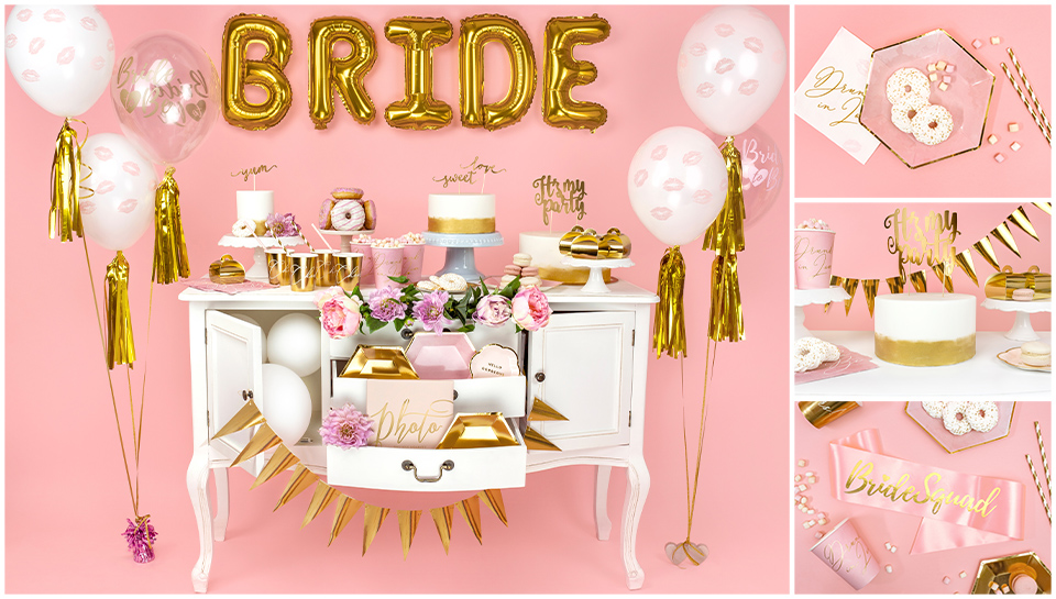 Gold Bridal Shower