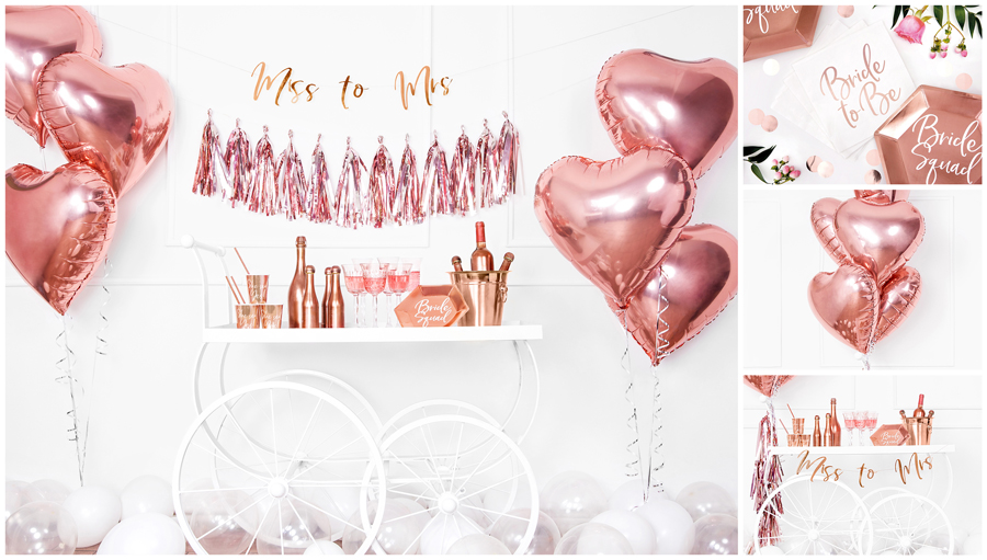 Rose Gold Bridal Shower